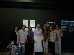 Steph, Jared, Rasha Muhhamed, Azza Rabea, Me, Rachel and Sean