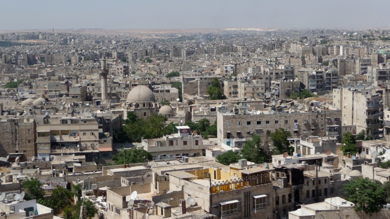 Aleppo is the second biggest city in Damascus and far more conservative