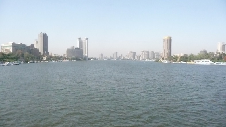 Nile from 6th of October Bridge